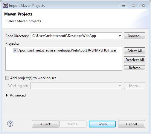 Maven_Projekt_Importieren