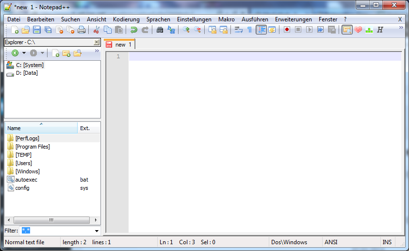 Notepad++ Explorer